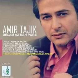 آهنگ دلم از راه پره دلم از خونه پره امیر تاجیک + متن